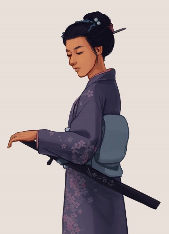 Misaki (The Sword of Kaigen) by Tara Spruit